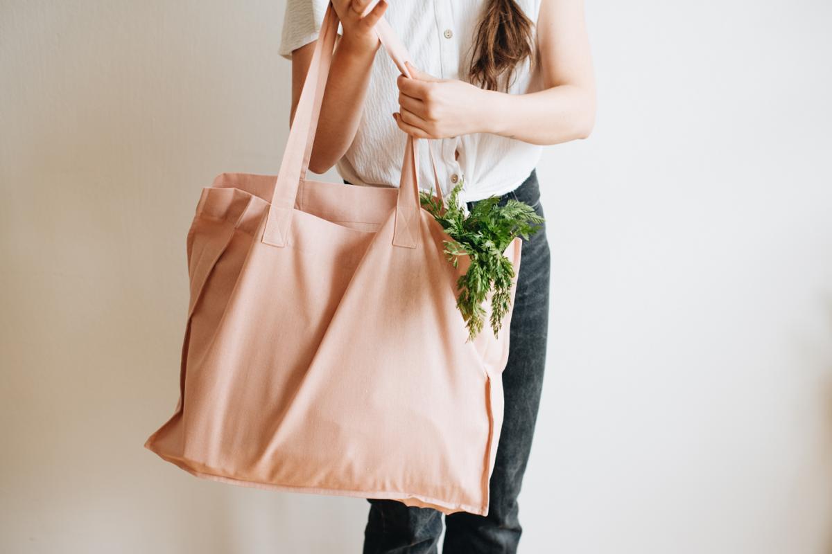 Nákupní plátěná taška