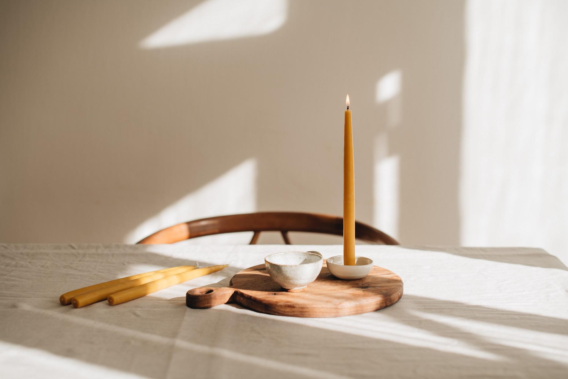Svíčky ze včelího vosku